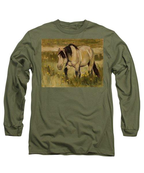 Summer Days Long Sleeve T-Shirt by Billie Colson