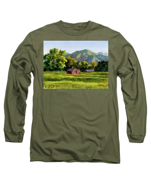 Summer Evening Long Sleeve T-Shirt by Anne Gifford