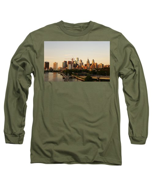 Summer Evening In Philadelphia Long Sleeve T-Shirt