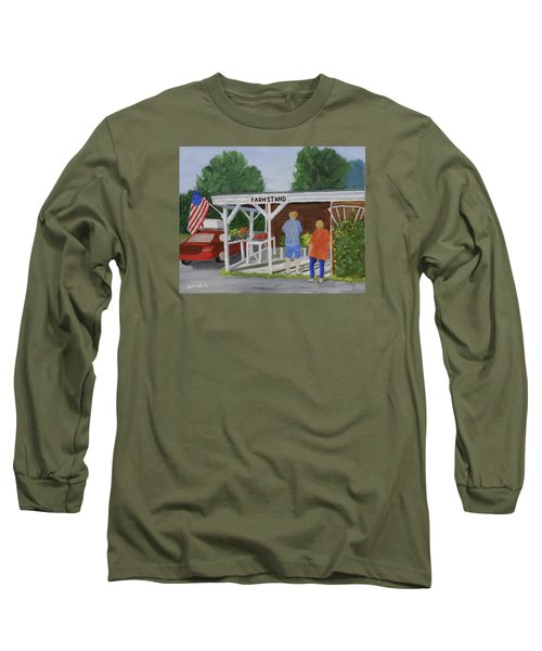 Summer Farm Stand Long Sleeve T-Shirt