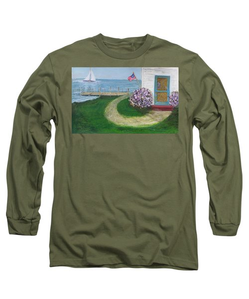 Summer Home In Maine Long Sleeve T-Shirt