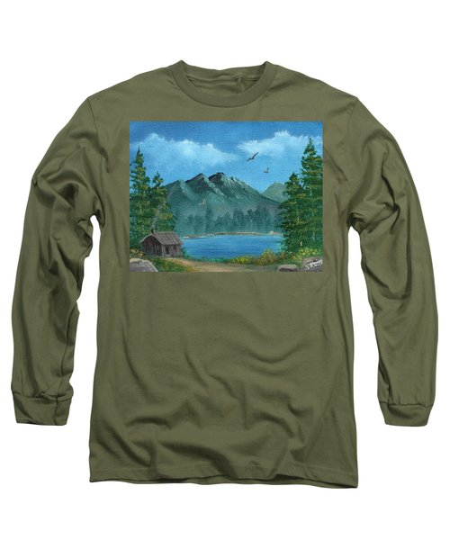 Summer In The Mountains Long Sleeve T-Shirt by Sheri Keith