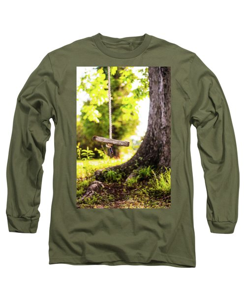 Long Sleeve T-Shirt featuring the photograph Summer Memories On The Farm by Shelby Young