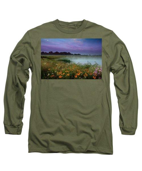 Summer Morning Long Sleeve T-Shirt by Rob Blair
