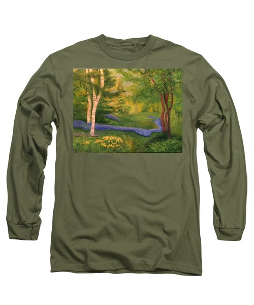 Summer On Orcas Island Long Sleeve T-Shirt