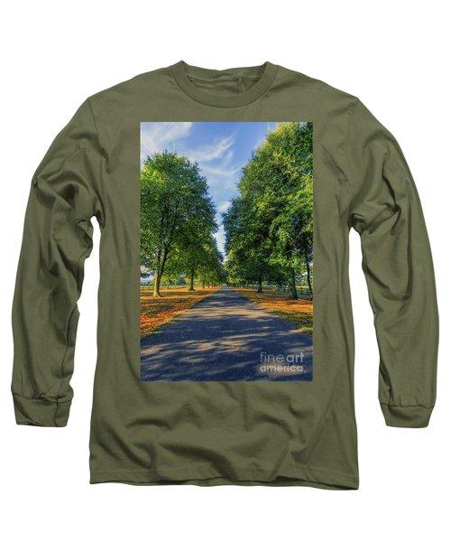 Summer Road Long Sleeve T-Shirt by Ian Mitchell