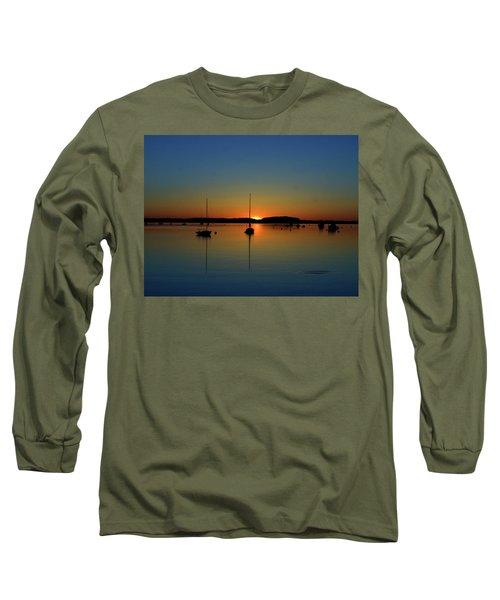 Summer Sunset Monument Beach Long Sleeve T-Shirt