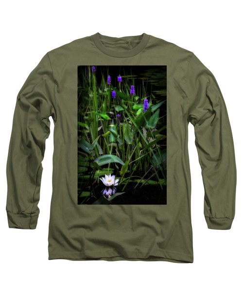 Long Sleeve T-Shirt featuring the photograph Summer Swamp 2017 by Bill Wakeley