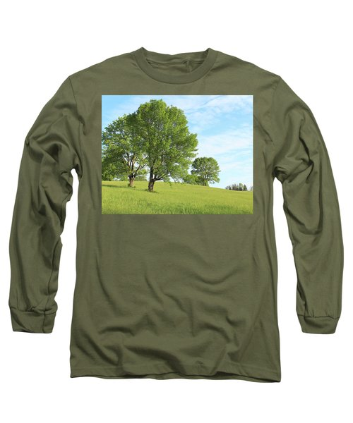 Summer Trees Long Sleeve T-Shirt