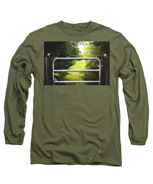 Long Sleeve T-Shirt featuring the photograph Summer Vibes On The Farm by Shelby Young