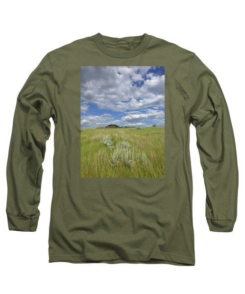 Summertime On The Prairie Long Sleeve T-Shirt