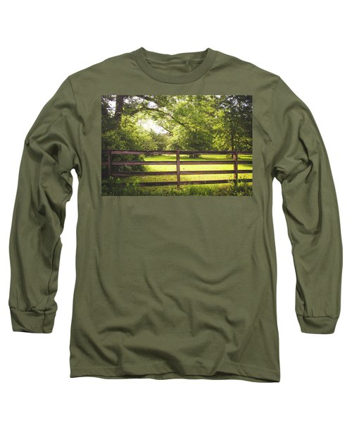 Long Sleeve T-Shirt featuring the photograph Summertime Sunshine by Shelby Young