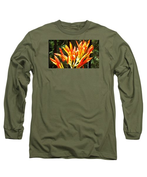 Long Sleeve T-Shirt featuring the photograph Sun Burst by Jake Hartz