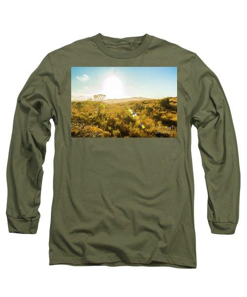 Sun Flare Prairie  Long Sleeve T-Shirt