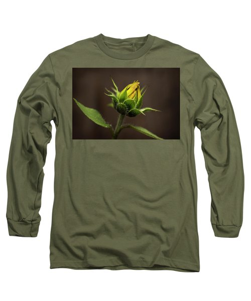 Sun Flower Blossom Long Sleeve T-Shirt