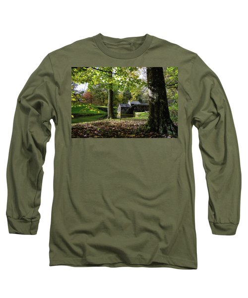 Sun Going Down At The Mill Long Sleeve T-Shirt
