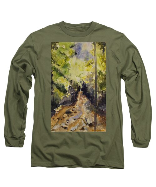 Sun Shines Through Long Sleeve T-Shirt by Geeta Biswas