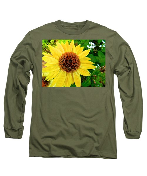 Sun Soaked Echinacea Long Sleeve T-Shirt