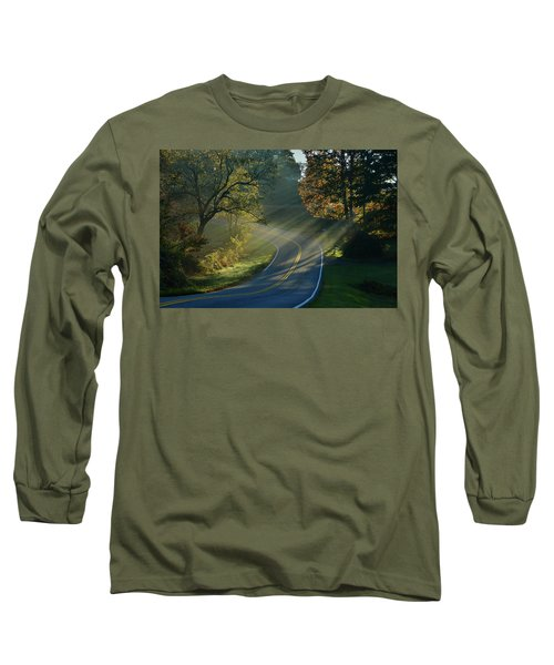 Sun-up On Conners Grove Long Sleeve T-Shirt