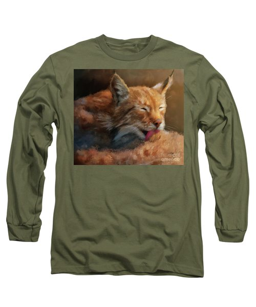 Long Sleeve T-Shirt featuring the photograph Sunbathing by Lois Bryan