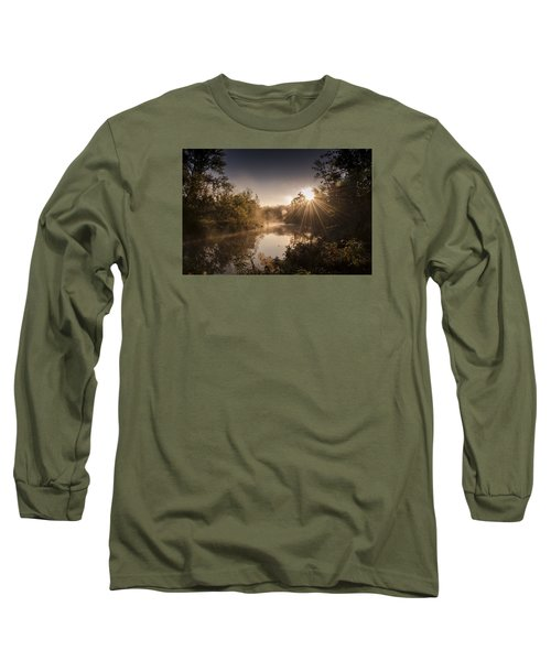 Long Sleeve T-Shirt featuring the photograph Sunbeams  by Annette Berglund