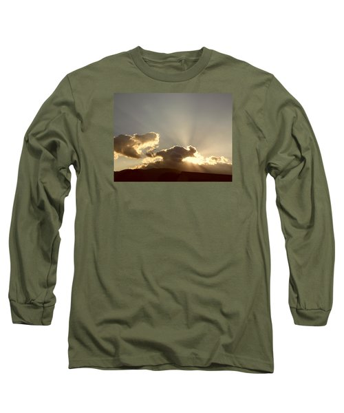 Trumpeting Triumphantly Sunrise Long Sleeve T-Shirt