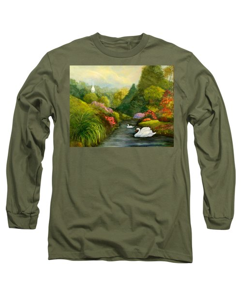 Sunday Afternoon Long Sleeve T-Shirt by Gail Kirtz