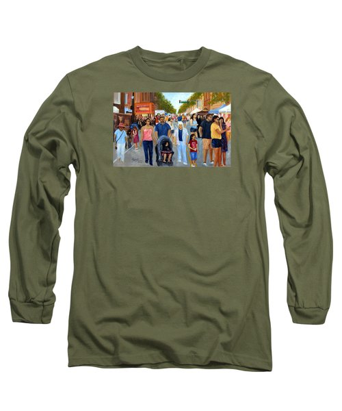 Sunday Fun In Red Bank Long Sleeve T-Shirt