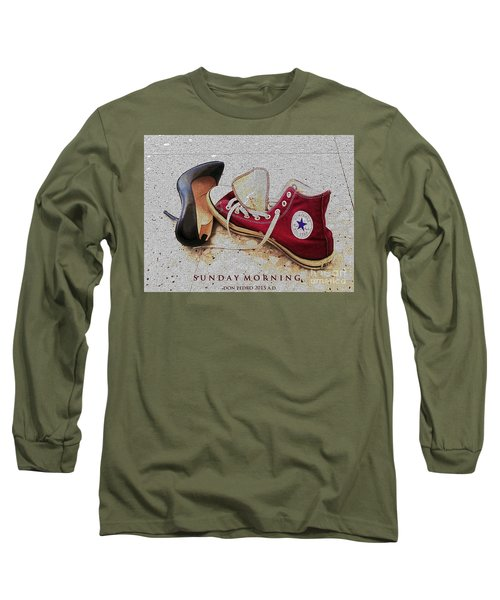 Sunday Morning Long Sleeve T-Shirt by Don Pedro De Gracia