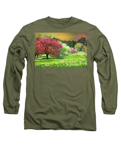 Long Sleeve T-Shirt featuring the photograph Sunday My Day by Diana Angstadt