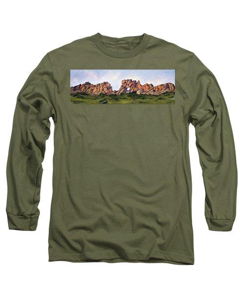 Sundown At The Backbone Long Sleeve T-Shirt