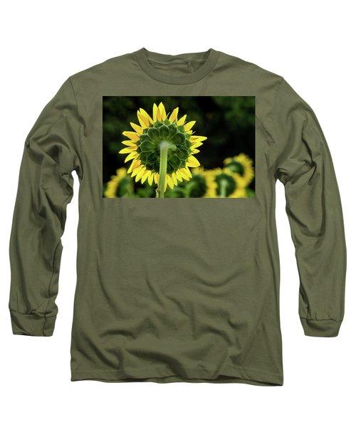 Sunflower Back Long Sleeve T-Shirt