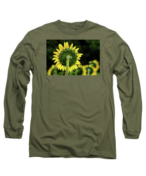 Sunflower Back Long Sleeve T-Shirt