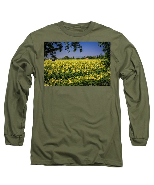 Sunflower Farm Long Sleeve T-Shirt