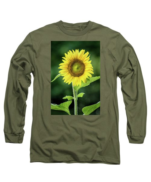 Sunflower In Bloom Long Sleeve T-Shirt