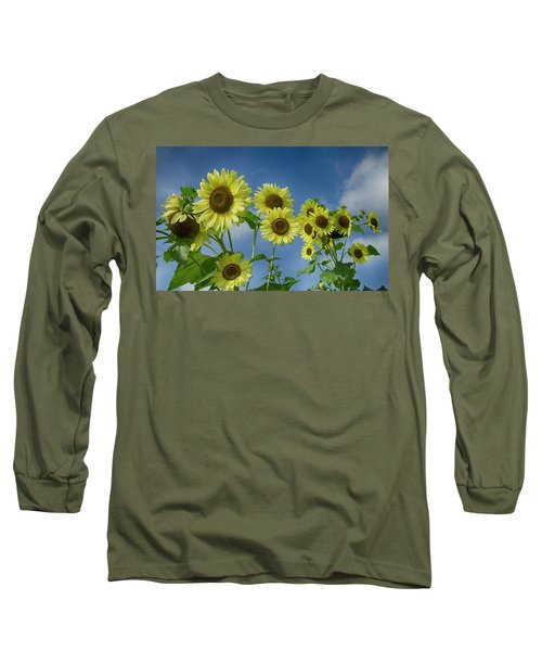 Sunflower Party Long Sleeve T-Shirt