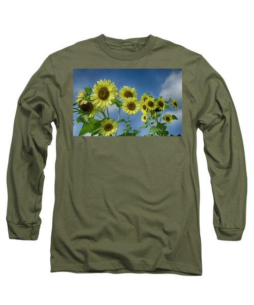 Sunflower Party Long Sleeve T-Shirt