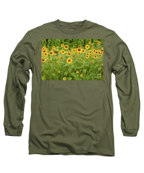 Sunflower Patch Long Sleeve T-Shirt