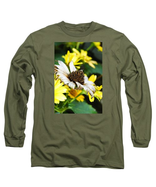 Long Sleeve T-Shirt featuring the photograph Sunflower Promise by Margie Avellino