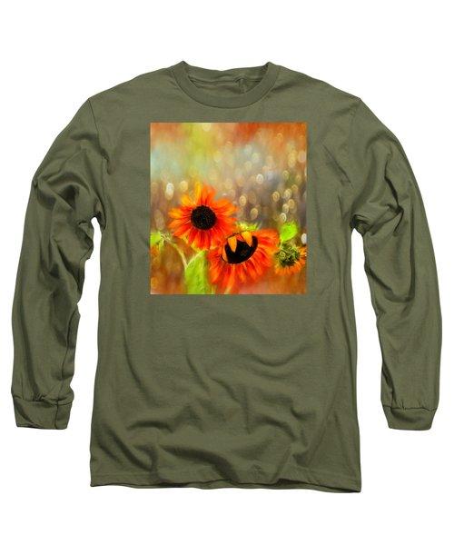 Sunflower Rain Long Sleeve T-Shirt