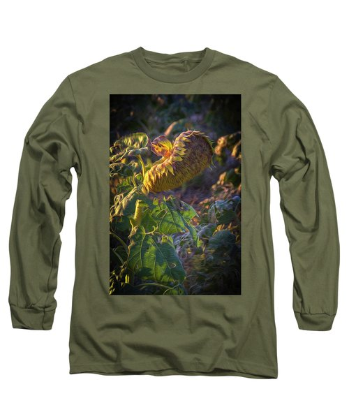 Sunflower Repose Long Sleeve T-Shirt