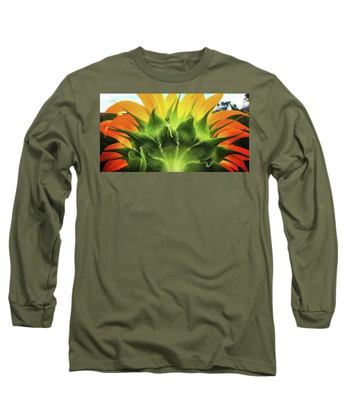 Sunflower Sunburst Long Sleeve T-Shirt