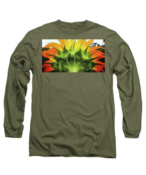 Sunflower Sunburst Long Sleeve T-Shirt