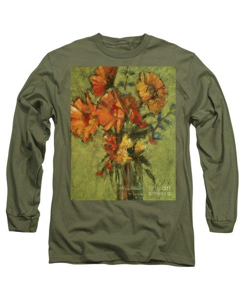 Sunflowers For Sunday Long Sleeve T-Shirt