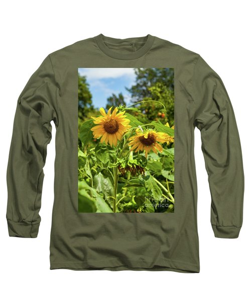 Sunflowers In Sunshine Long Sleeve T-Shirt