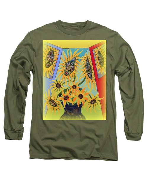 Sunflowers Rhapsody Long Sleeve T-Shirt