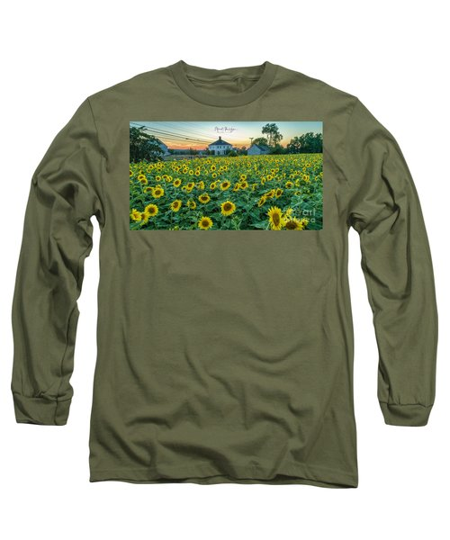 Sunflowers For Wishes  Long Sleeve T-Shirt