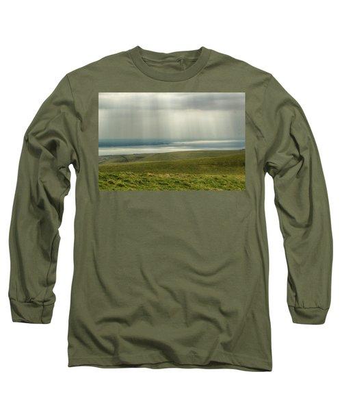Sunlight On The Irish Coast Long Sleeve T-Shirt