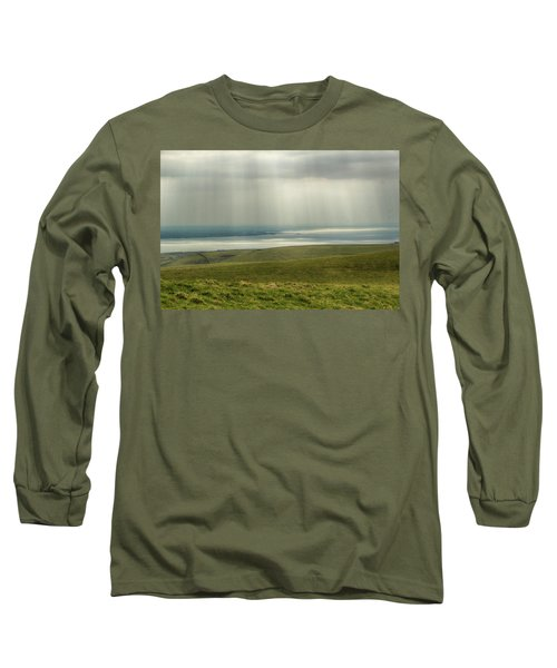 Sunlight On The Irish Coast Long Sleeve T-Shirt