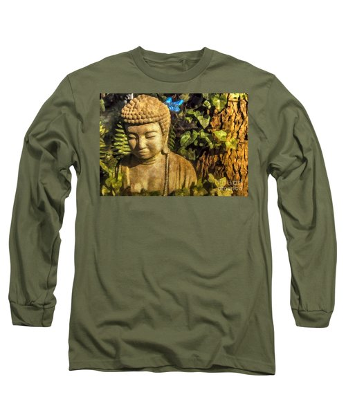 Sunlit Buddha 2015 Long Sleeve T-Shirt